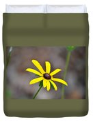 Yellow Star Duvet Cover