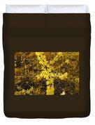 Yellow Strand Duvet Cover