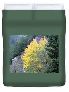 Yellow Trees Duvet Cover