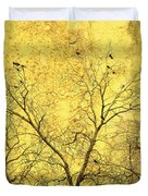 Yellow Wall Duvet Cover