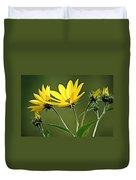 Yellow Wildflower 2 Duvet Cover
