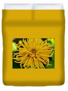 Yellow Zinnia_9480_4272 Duvet Cover