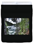 Yellowstone River II Duvet Cover