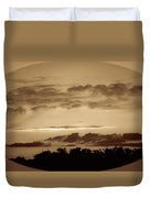 Yesteryears Sunset Duvet Cover