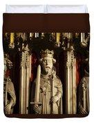 York Minster's Choir Screen Duvet Cover