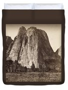 Yosemite: Cathedral Rock Duvet Cover