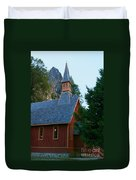Yosemite Chapel Duvet Cover