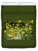 Yosemite Coneflowers Duvet Cover