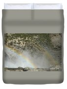 Yosemite Falls Rainbow Duvet Cover