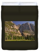 Yosemite Fall's Spring Flow Duvet Cover