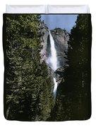 Yosemite Falls, Yosemite National Park Duvet Cover