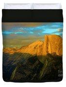 Yosemite Golden Dome Duvet Cover