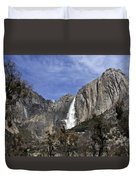 Yosemite Water Fall Duvet Cover