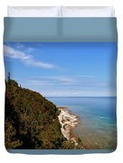 You Can See For Miles Duvet Cover