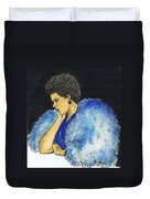 Young Billie Holiday Duvet Cover