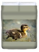 Young Duck Duvet Cover