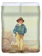 Young England - A Fisher Boy Duvet Cover
