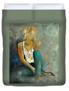 Young Girl 562190 Duvet Cover