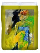 Young Girl 572180 Duvet Cover