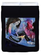 Young Girl 662160 Duvet Cover