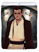 Young Obi Wan Kenobi Duvet Cover