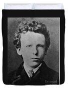 Young Vincent Van Gogh, Dutch Painter Duvet Cover