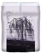 Young Weeper Duvet Cover