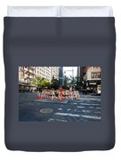 Your Tax Dollars At Work Duvet Cover