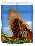 Ysios Winery Spain Duvet Cover
