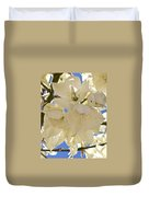 Yucca Flowers 3 Duvet Cover