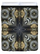 Zebra Cross II Duvet Cover