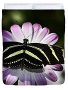 Zebra Longwings Duvet Cover