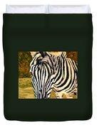 Zebra Stripes Duvet Cover