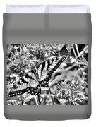 Zebra Wings Duvet Cover