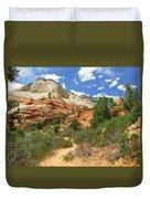 Zion National Park - A Picturesque Wonderland Duvet Cover