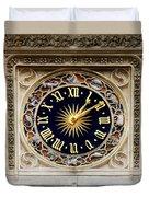 Zodiac Clock Duvet Cover