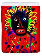 Zulu Red Duvet Cover