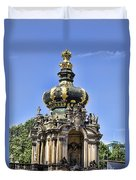 Zwinger Palace Crown Gate Duvet Cover