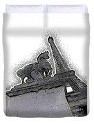 # 4 Paris France Duvet Cover