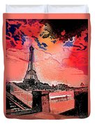 # 9 Paris France Duvet Cover