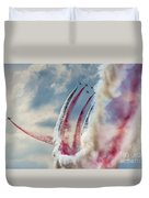 Aerobatic Group Formation  Duvet Cover