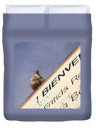 African Collared Dove 2 Duvet Cover