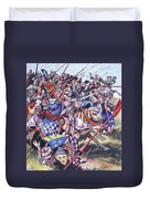Agincourt The Impossible Victory 25 October 1415 Duvet Cover