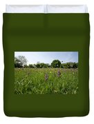 Ancient Hay Meadow Duvet Cover