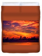 ... And As The Sun Sets On Another Beautiful Day Duvet Cover