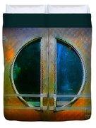 Art Deco Door In Halifax Nova Scotia Duvet Cover