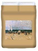 At The Beach Valencia Duvet Cover