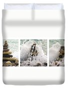 Balance And Energy Duvet Cover by Stelios Kleanthous