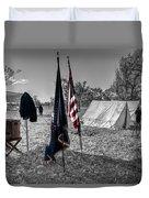 Battle Of Honey Springs V15 Duvet Cover
