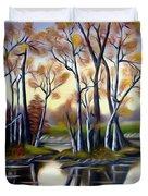 Birch Bay Lagoon Dreamy Mirage Duvet Cover